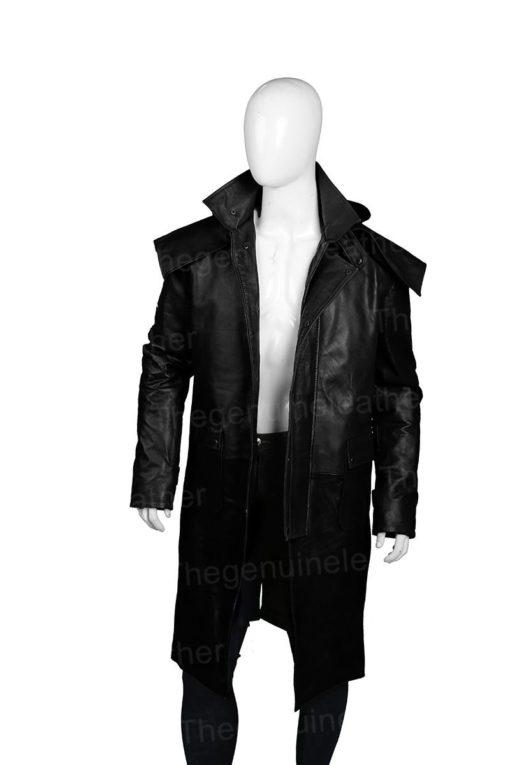 Stockman Horse Riding Leather Coat