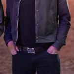 Tallahassee Black Leather Jacket