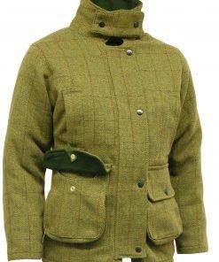 Tweed Shooting Cotton Jacket