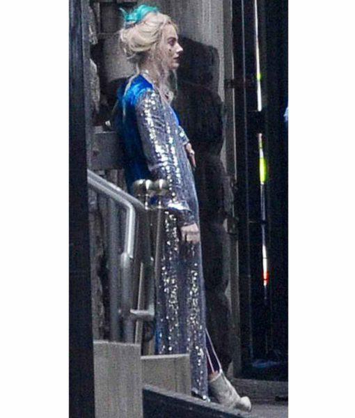 Margot Robbie Birds Of Prey Harley Quinn Long Coat