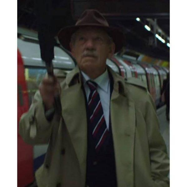 The Good Liar Ian Mckellen Trench Coat