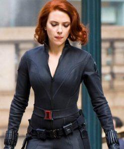 Age Of Ultron Black Widow Jacket