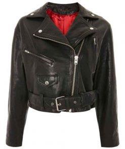 Alice Cooper Riverdale Madchen Amick Black Leather Blazer