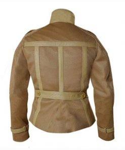 Black Widow Civil War Leather Jacket