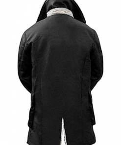 Blingsoul Shearling Fur Leather Coat