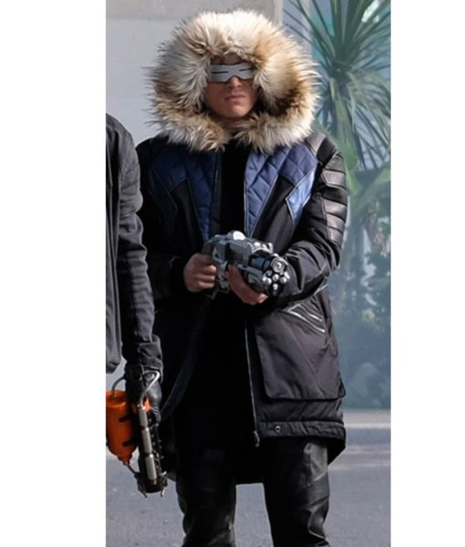 Captain Cold Crisis On Infinite Earths Parka Coat