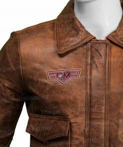 Captain Marvel Brie Larson Leather Jacket