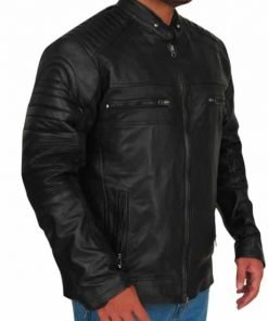 Chuck Clayton Riverdale Black Leather Jacket