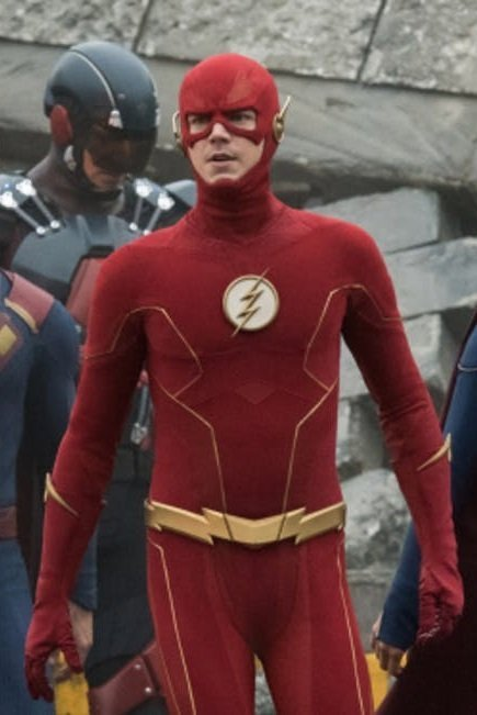 Crisis on Infinite Earths Flash Red Jacket