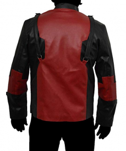 Deadpool Game Leather Jacket