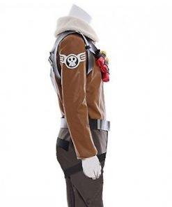 Fortnite Raptor Gaming Brown Jacket