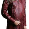 Guardians Of The Galaxy Vol 2 Star Lord Leather Coat