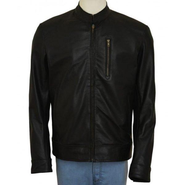 Jack Reacher Black Leather Jacket