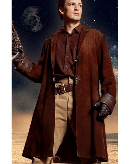Malcolm Reynolds Firefly Brown Coat