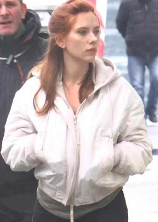 Natasha Romanoff Black Widow Hooded Jacket