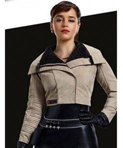 Qi'ra Solo Star Wars Story Emilia Clarke Jacket