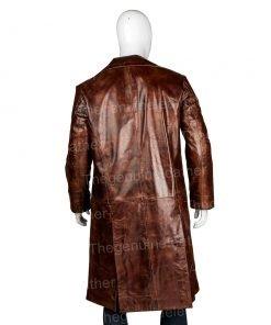 Alita Battle Angel Dr. Dyson Ido Brown Trench Coat