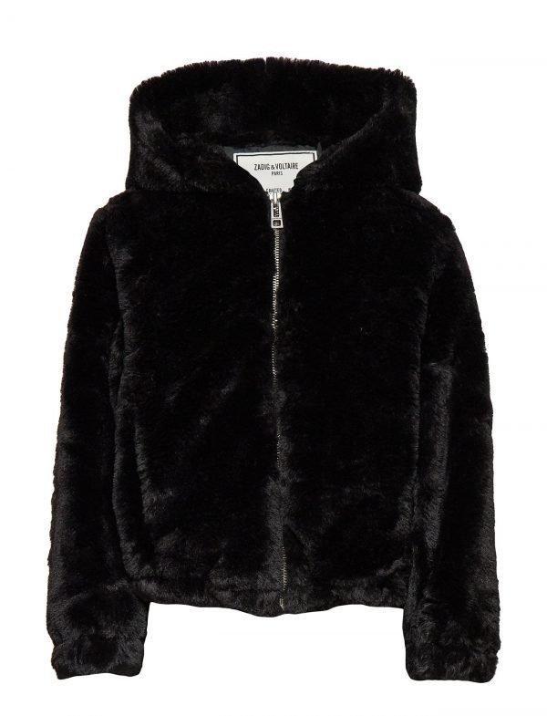 Black Leather Malia Jacket