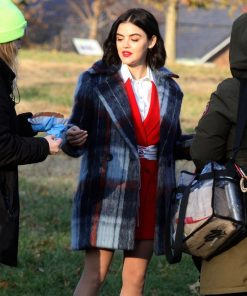 Katy Keene Checked Coat