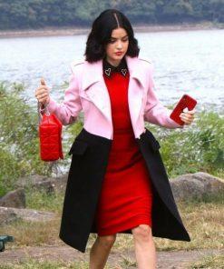 Katy Keene Lucy Hale Pink Coat