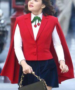 Katy Keene Lucy Hale Red Vest