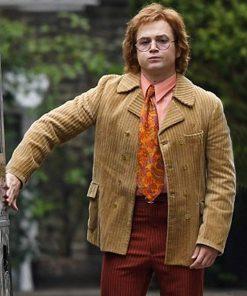 Rocketman Taron Egerton Elton John Coat
