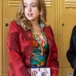 Sex Education Aimee Gibbs Red Coat