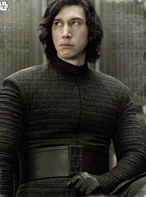 star wars kylo ren the last jedi black leather jacket | kylo ren jacket