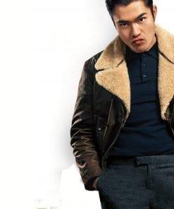 The Gentlemen Dry Eye Henry Golding Shearling Jacket