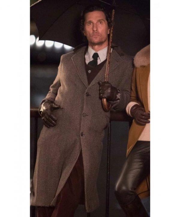 The Gentlemen Mickey Pearson Trench Coat