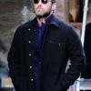 The Rhythm Section Jude Law Black Wool Jacket