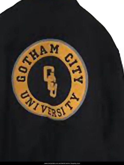 Victor Stone Gotham City University Black Jacket