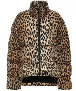 Womens Faux Fur Leopard Jacket