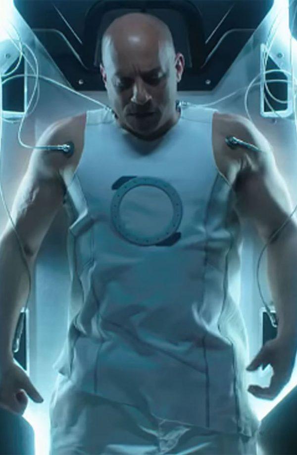 Bloodshot Vin Diesel White Vest