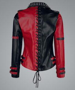 Harley Quinn Heartless Asylum Jacket