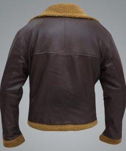Men B3 Flying Aviator Pilot Shearling Jacket