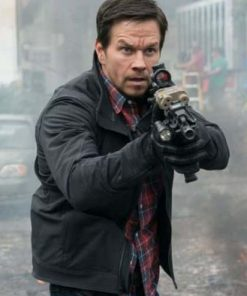 Scoob Mark Wahlberg Black Jacket