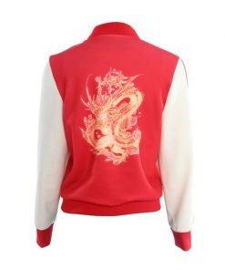 The Internet Mulan Ralph Breaks Red Cotton Jacket