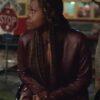 The Lovebirds Issa Rae Leather Jacket