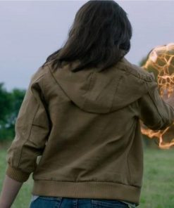 The New Mutants Blu Hunt Brown Jacket