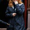 The Woman In The Window Amy Adams Blue Coat