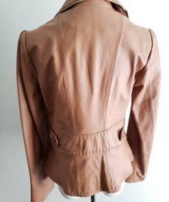 Womens Wilsons Caramel Leather Coat