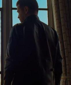 Artemis Fowl Colin Farrell Black Leather Jacket