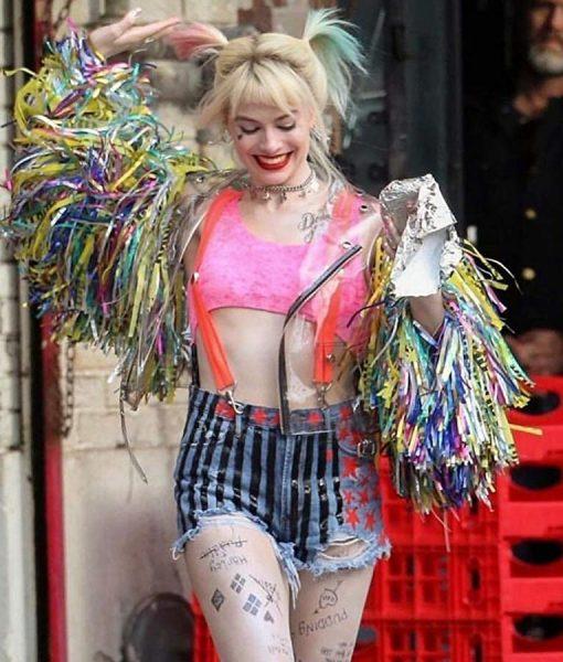 Birds Of Prey Harley Quinn Wing Jacket