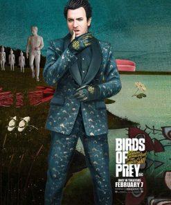 Black Mask Birds Of Prey Suit
