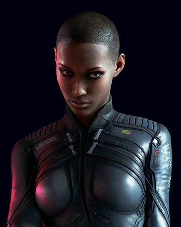 Cyberpunk 2077 T-Bug Black Jacket