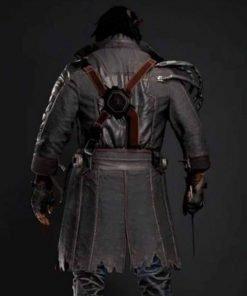 Cyberpunk Placide Leather Coat