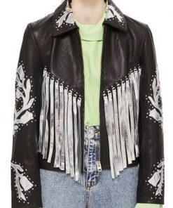 Harley Quinn Birds of Prey Fringe Jacket