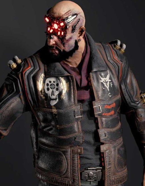 Royce Cyberpunk 2077 Leather Jacket