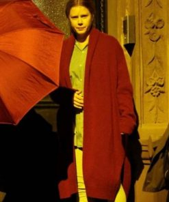 The Woman in the Window Amy Adams Red Coat